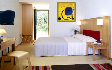 Standard Double Room отеля Elounda Blue Bay 3*