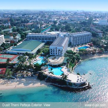 Отель Dusit Thani Pattaya  (ex. Dusit Resort) 5*