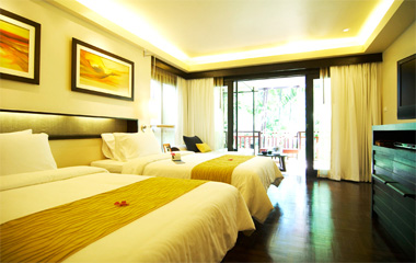 Premier room twin отеля Chaweng Regent Beach Resort 4*