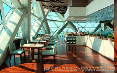 Ресторан отеля Hyatt Capital Gate 5*